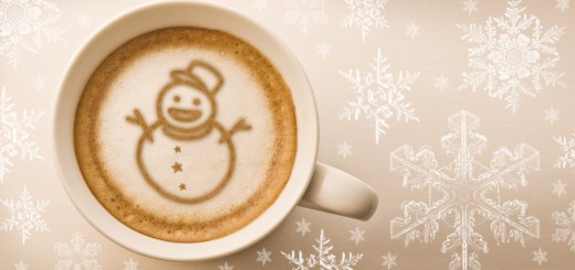 Hot cocoa in a mug - banner