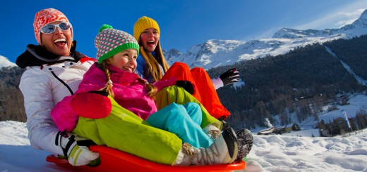 Family friendly winter activities - image