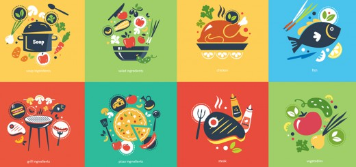 Healthy recipes - banner