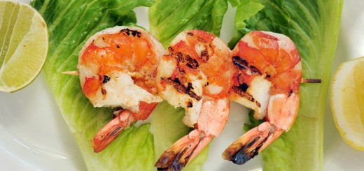 Honey lime shrimp recipe - banner