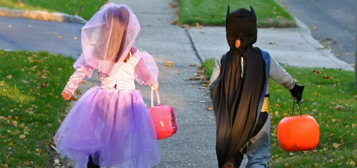 Halloween safety information - banner